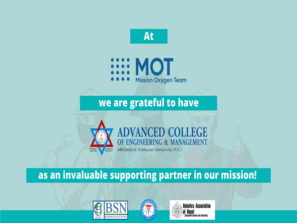 Advanced College collaborates with Mission Oxygen Team