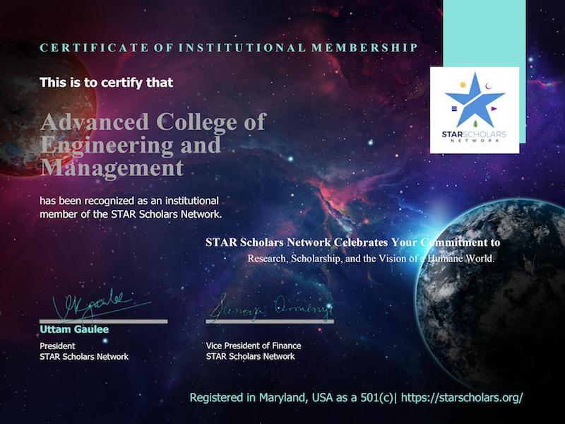Member of STAR Scholars network