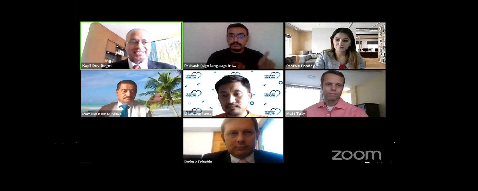 Webinar with United Nations Volunteers